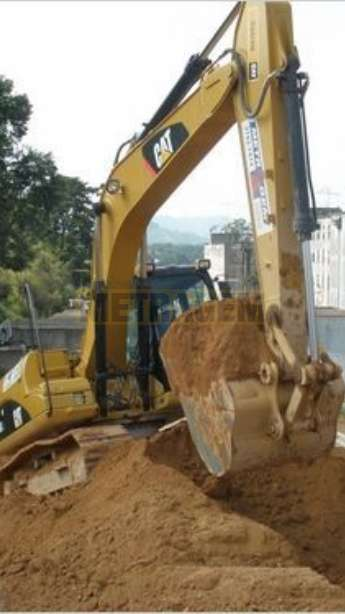 Foto: Aluguel de Escavadeira Hidráulica